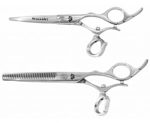Tarumi 5.5″ & Dukuri 30 tooth Hair Scissors Swivel Set