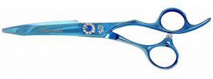 Hakikake 6.0 Hair Scissors Light Blue Titanium Hair Shears