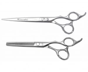 Futasuji 7.0″ Hair Scissors & Ishizuki 60t Thinning Shears
