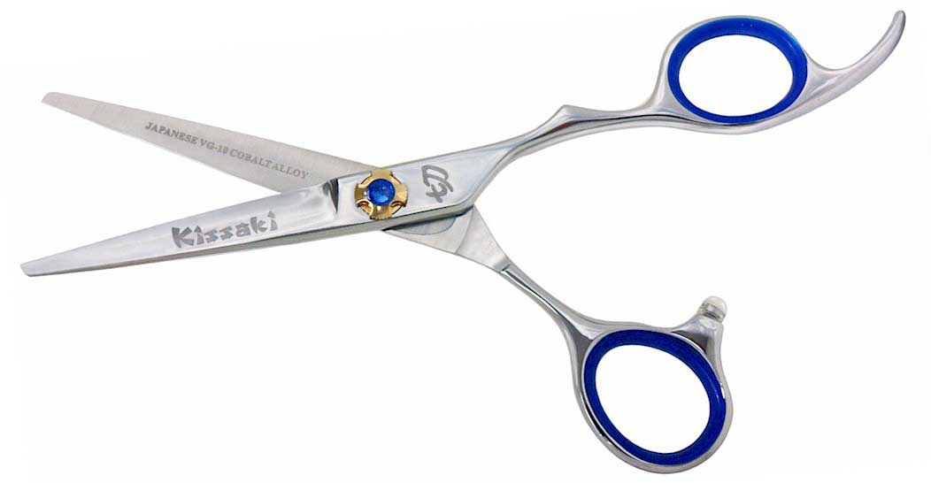 Nijyuu 5 5 Quot Hair Cutting Shears Vg 10 Super Steel Cobalt